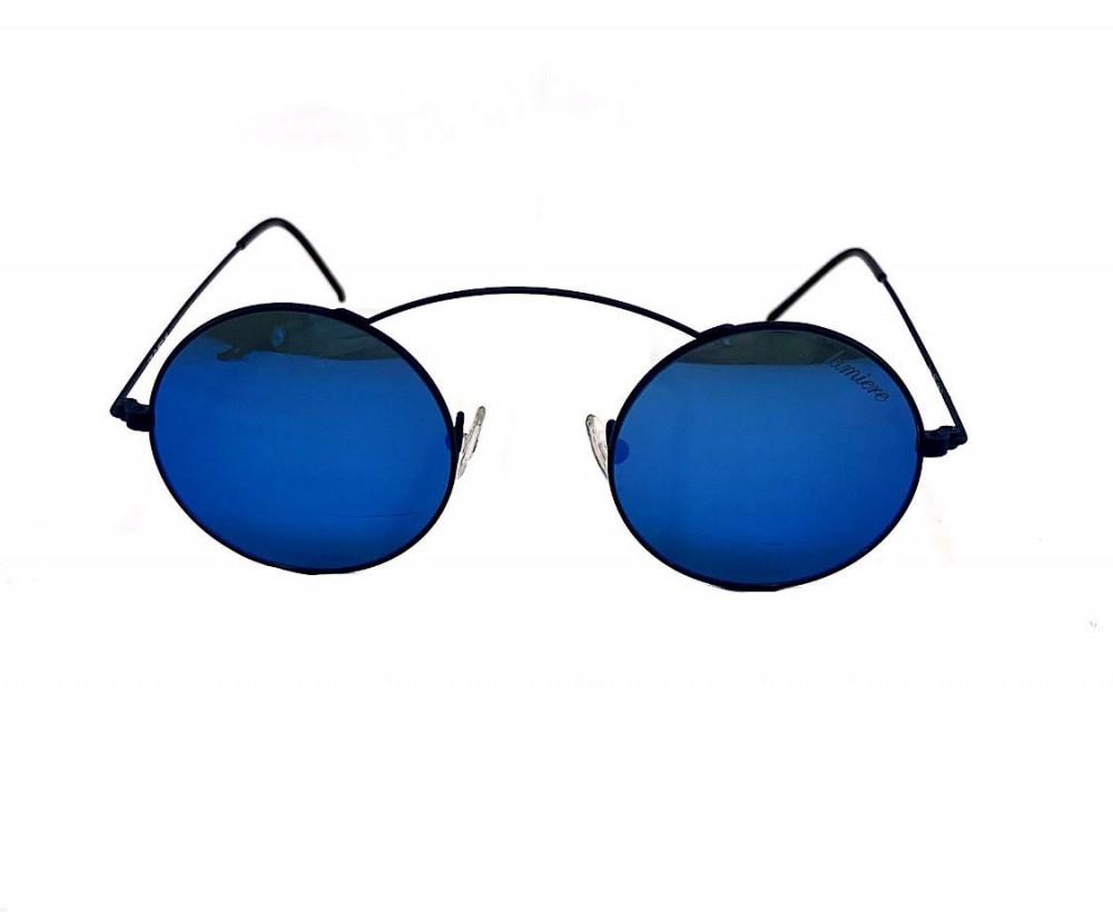 شراء نظارة لومير شمسية للرجال - شكل دائري - باللون أسود - نظارات زكي