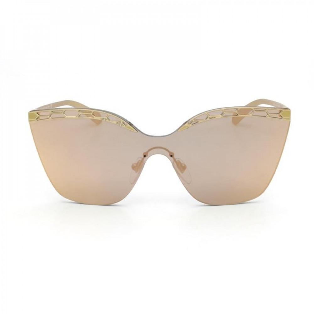 سعر نظارة بولغاري نسائي شمسية - شكل مربع - لونها وردي - زكي