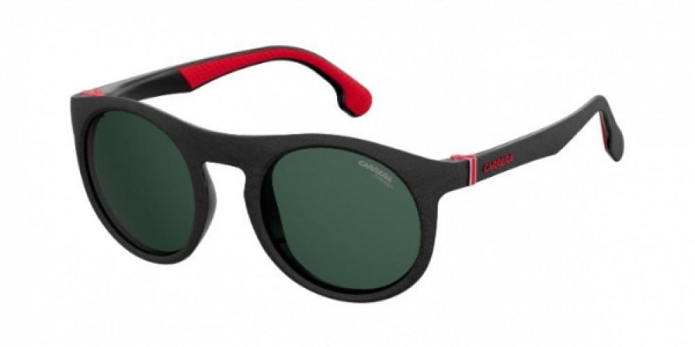 نظارة كاريرا شمسية للرجال - شكل دائري - لون أسود - زكي للبصريات