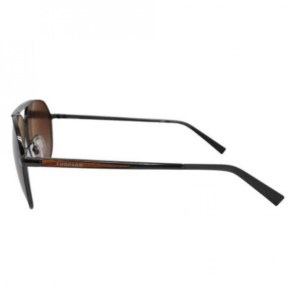 شراء نظارة شوبارد شمسية للرجال - شكل أفياتور - لون أسود - زكي للبصريات