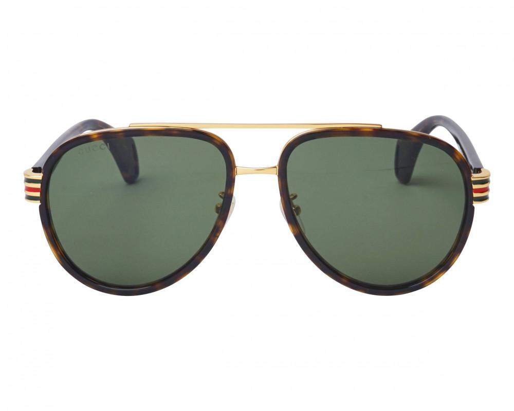 سعر نظارة قوتشي شمسية للجنسين - شكل افياتور - لون تايقر - زكي للبصريات