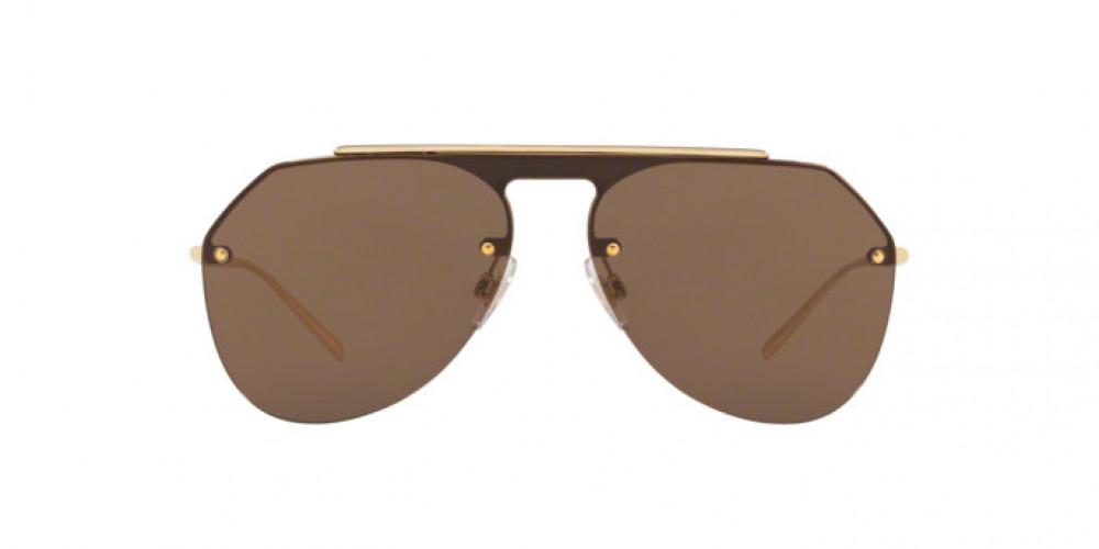 سعر نظارة دولسي اند جابانا شمسية للرجال - افياتور - باللون ذهبي - زكي