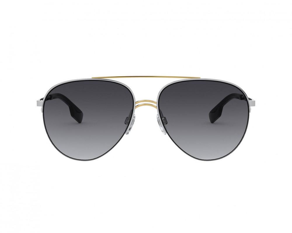 شراء نظارة بربري شمسية للرجال - افياتور - لون فضي - زكي للبصريات