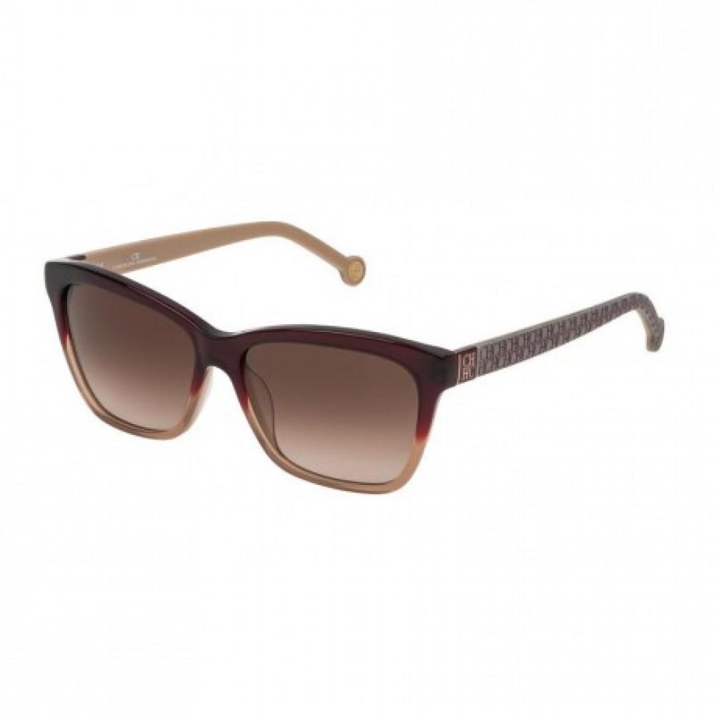 نظارات كارولينا شمسية للنساء - شكل مستطيل - لون تايجر - زكي