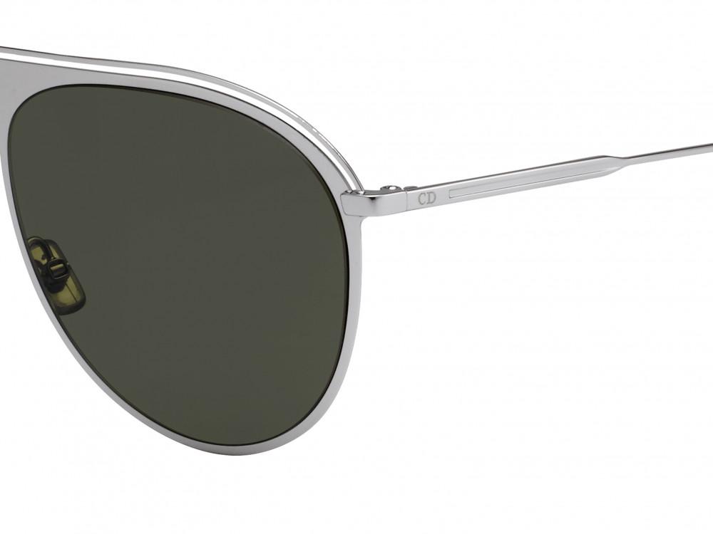 افضل نظارة ديور شمسية للرجال - شكل أفياتور - لون رمادي