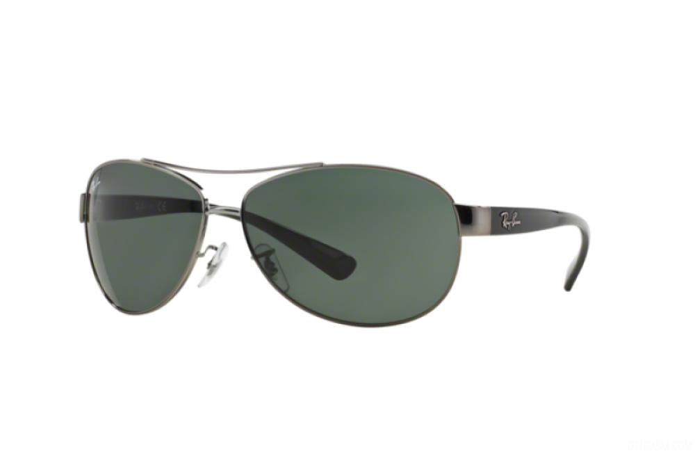 نظارة ريبان شمسية للرجال -  أفياتور - فضي - زكي للبصريات
