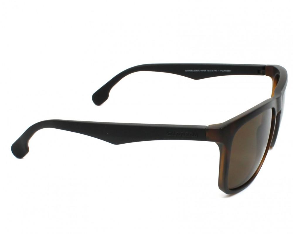 نظارة كاريرا شمسية للرجال - شكلها مستطيل - لونها تايقر - زكي للبصريات