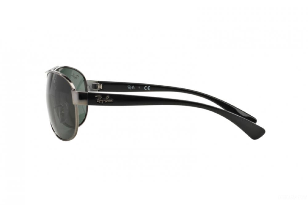 احسن نظارة ريبان شمسية للرجال -  أفياتور - فضي - زكي للبصريات