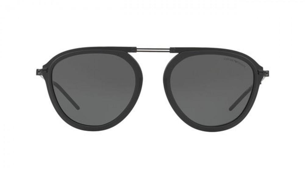 سعر نظارة امبريو ارماني شمسية للرجال - افياتور - لون أسود - زكي للبصري