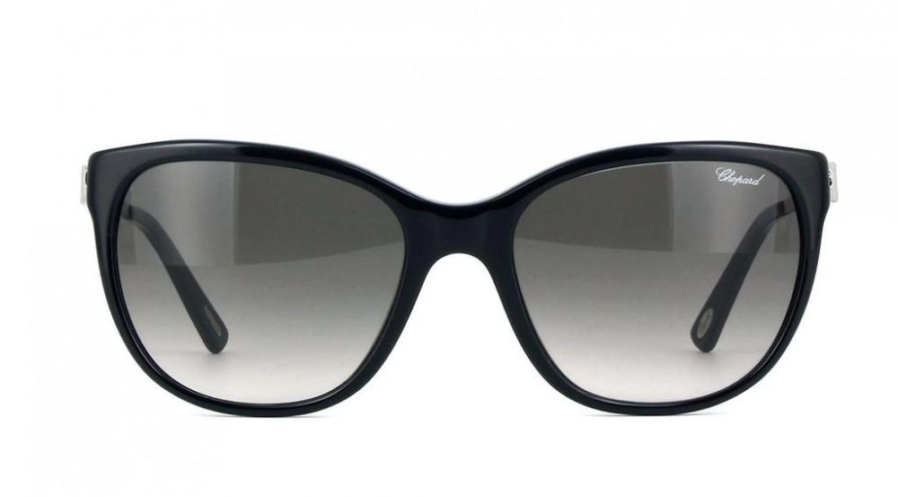 سعر نظارات شوبارد نسائية شمسية - شكلها كات أي - لون أسود - زكي