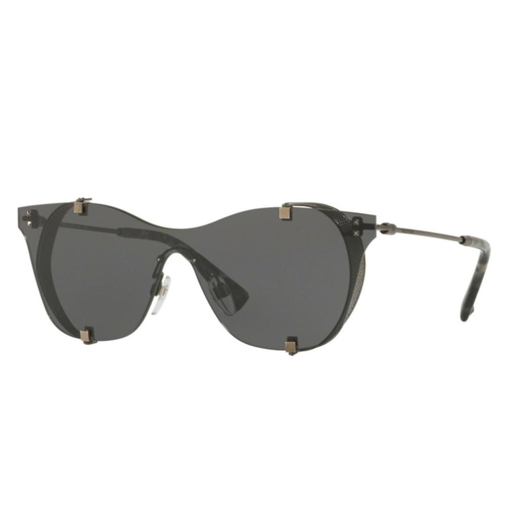 نظارة فالنتينو شمسية للنساء - كات أي - لون رمادي - زكي للبصريات
