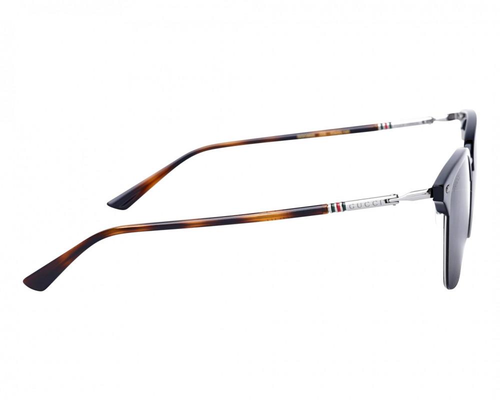 افضل نظارة قوتشي شمسية للجنسين - شكل دائري - لون تايقر - زكي للبصريات