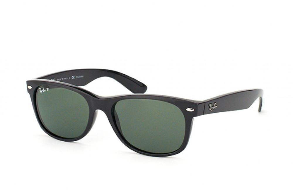 نظارة ريبان شمسية للرجال - لون أسود - شكل واي فيرر - زكي للبصريات