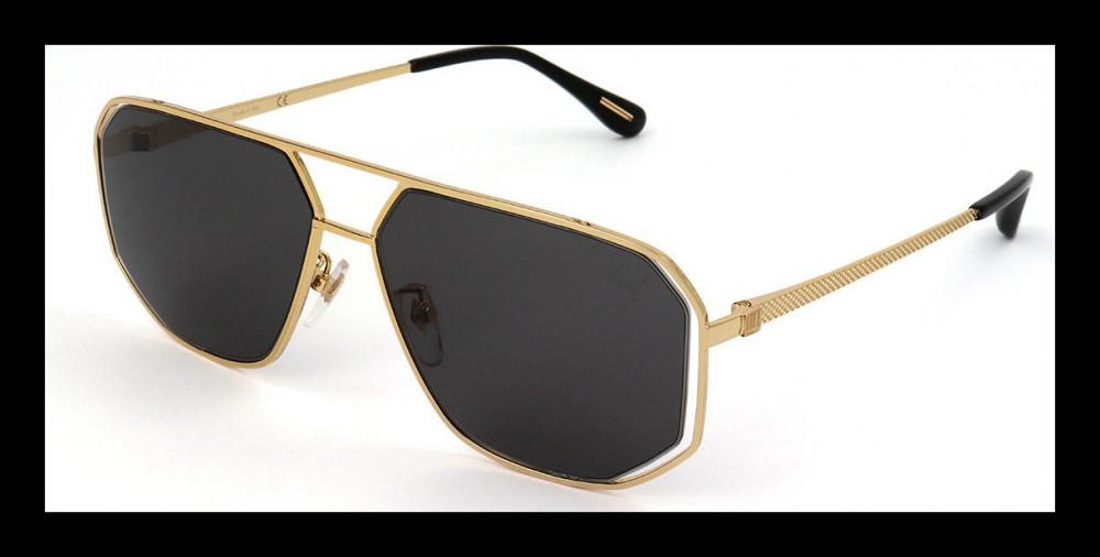 نظارات دنهل شمسية للجنسين - افياتور - لون ذهبي - زكي للبصريات