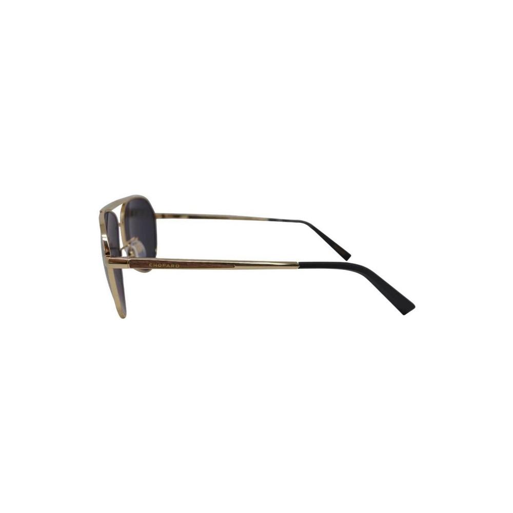 شراء نظارة شوبارد شمسية للرجال - شكل أفياتور - لون ذهبي - زكي للبصريات