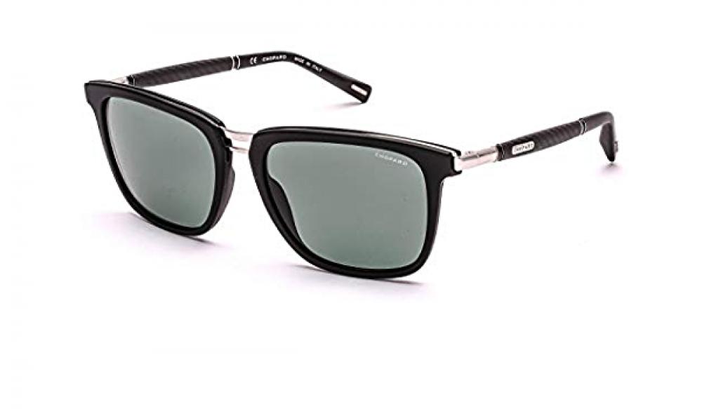 نظارة شوبارد شمسية للرجال - شكله مربع - لونها أسود - زكي للبصريات
