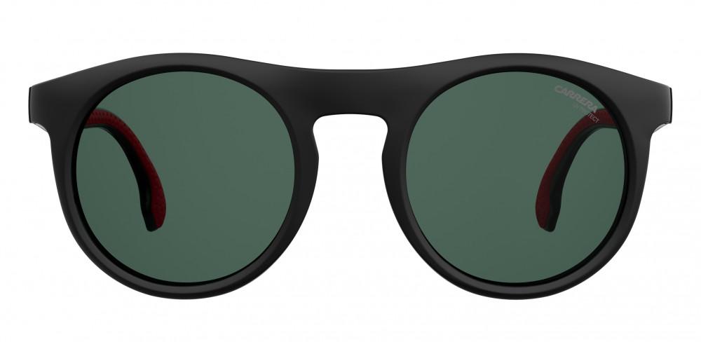 افضل نظارة كاريرا شمسية للرجال - شكل دائري - لون أسود - زكي للبصريات