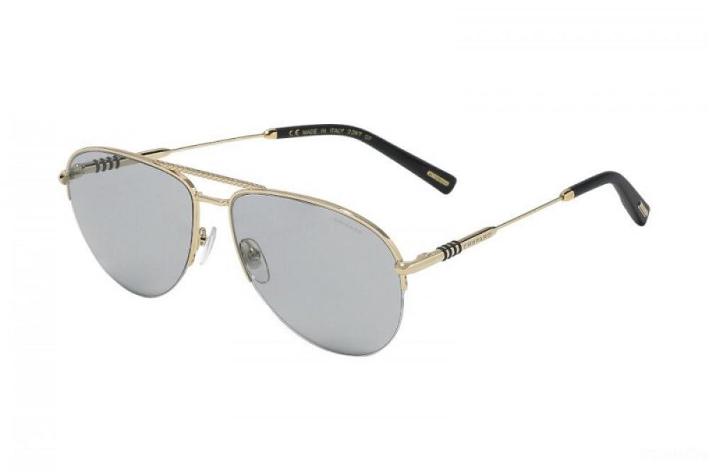 نظارة شوبارد شمسية للرجال - شكل افياتور - باللون الفضي - زكي للبصريات