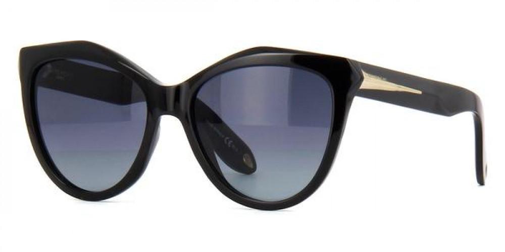 نظارات جفنشي الشمسية للنساء - كات أي - لون أسود - زكي للبصريات