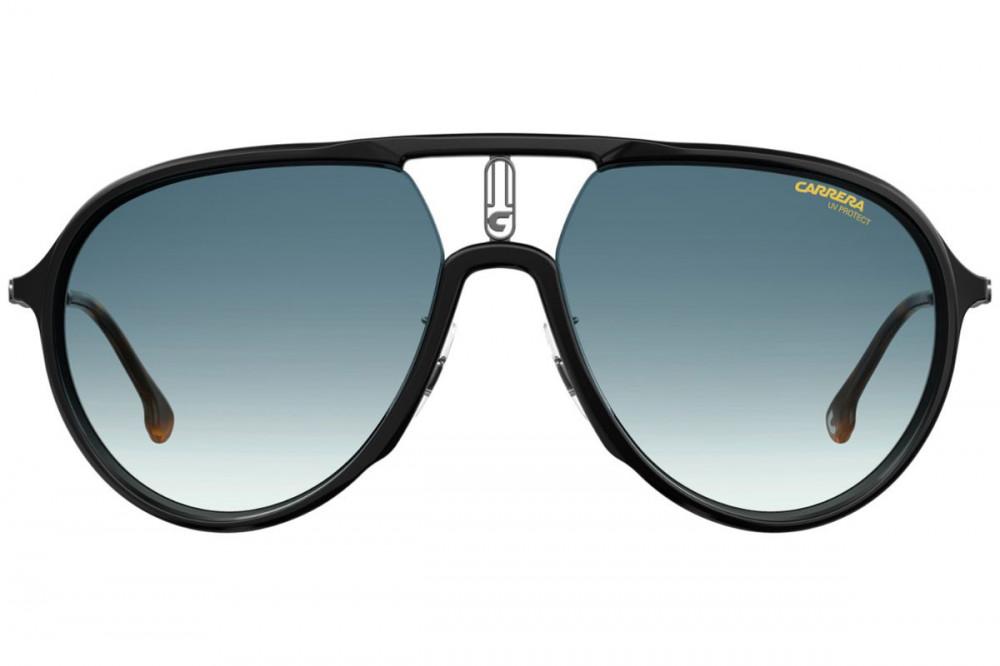 افضل نظارات ماركة carrera شمس للجنسين - افياتور - لونها رمادي - زكي