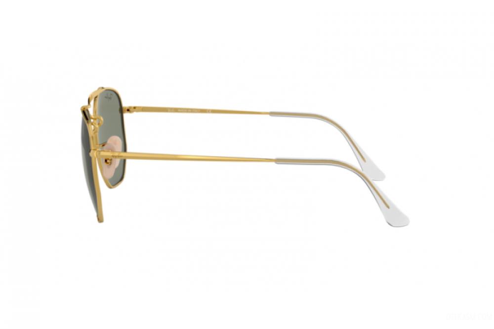 احسن نظارة ريبان شمسية للرجال والنساء - لون فضي - مربعة الشكل - زكي