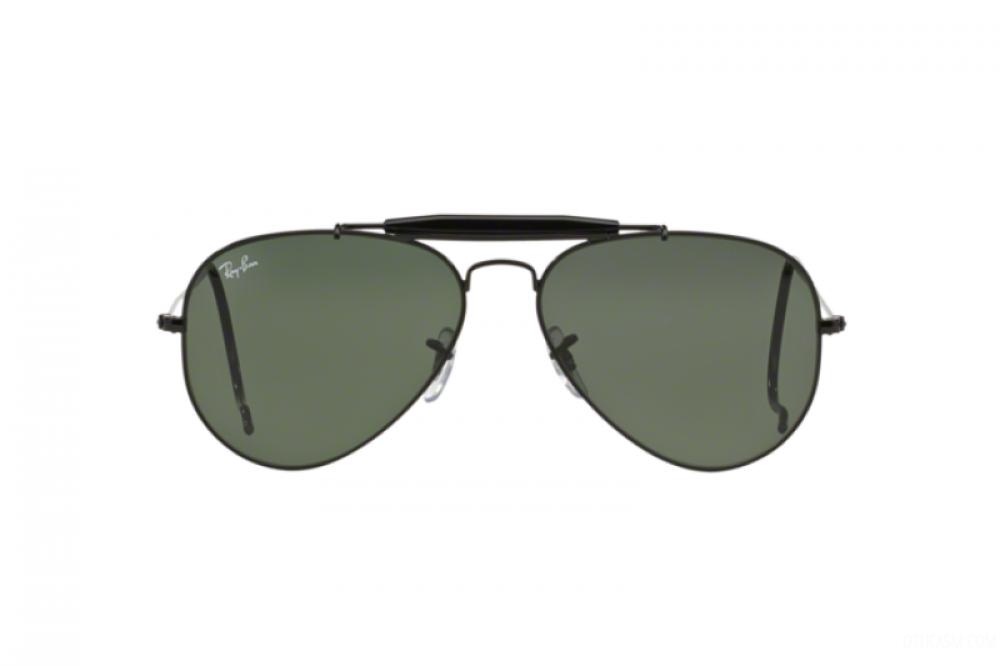 احسن نظارة ريبان شمسية رجالي - اسود - افياتور - زكي للبصريات