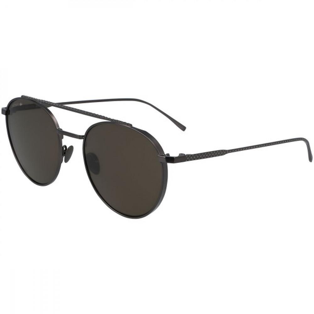 نظارة لاكوست شمسية للحنسين - شكل دائري - لو بني - زكي للبصريات