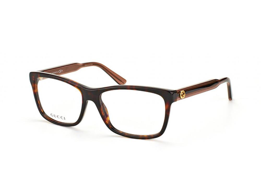 نظارة قوتشي شمسية للرجال - شكل مربع - لون تايقر - زكي للبصريات