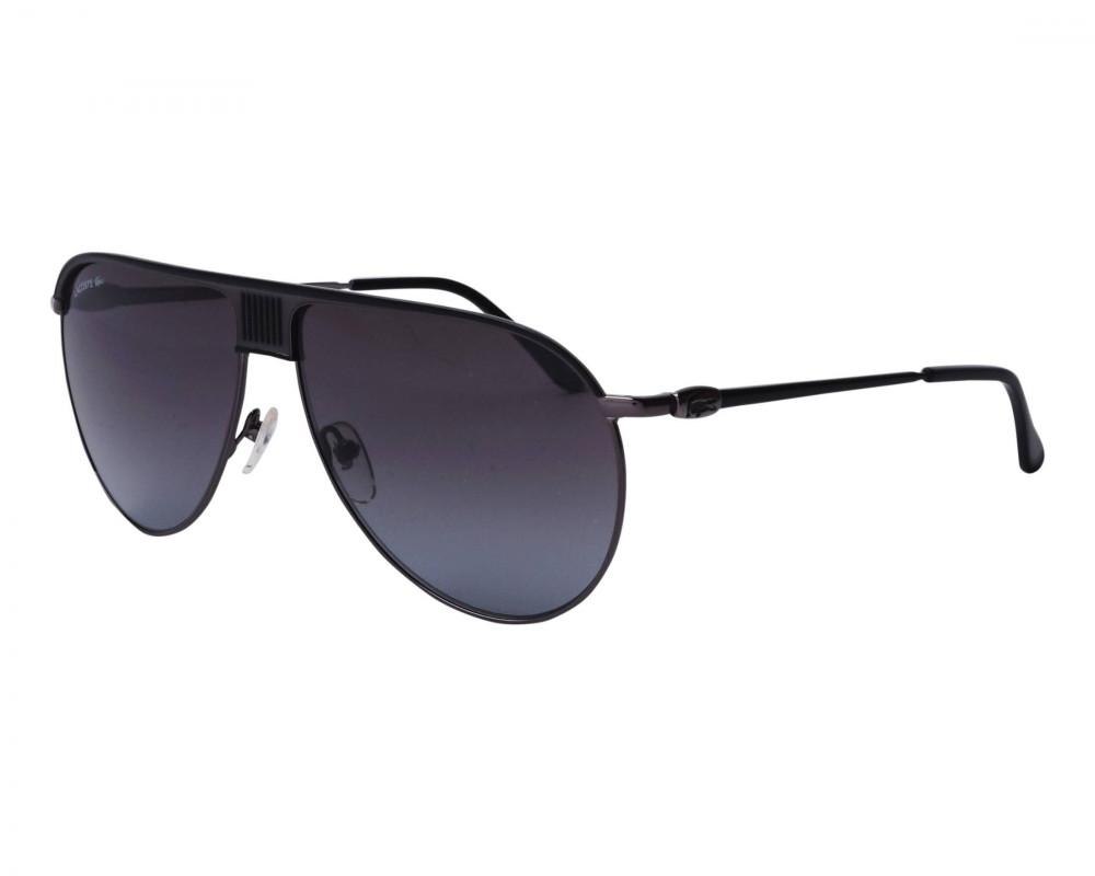 نظارات شمسية رجالية لاكوست - افياتور - اسود - زكي
