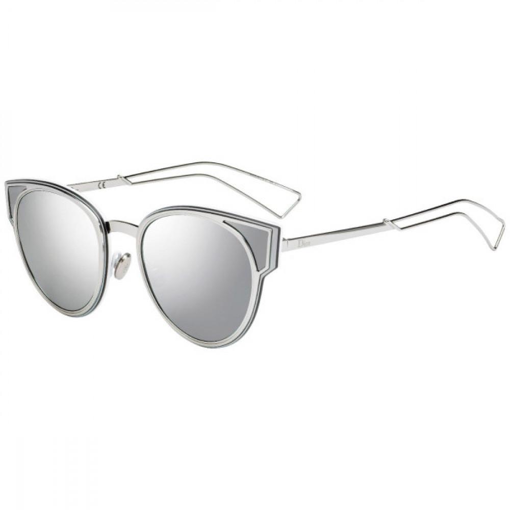 نظارات شمسية نسائية ديور - شكل كات أي - لون رمادي - زكي