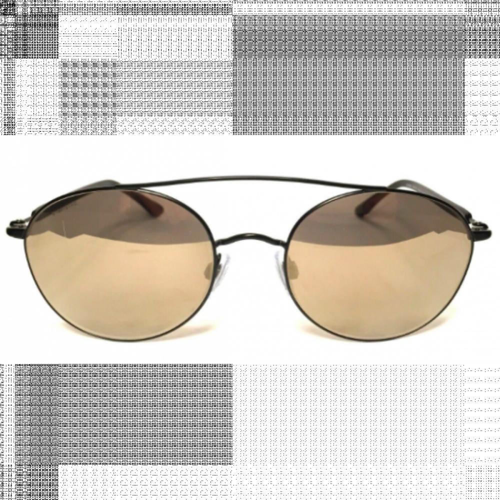 سعر نظارة جورجيو ارماني شمسية للجنسين - شكل دائري - لون أسود - زكي