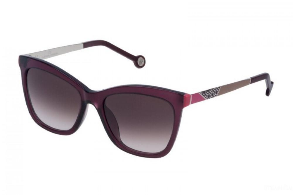 نظارات كارولينا شمسية للنساء - شكل مستطيل - لون بنفسجي - زكي