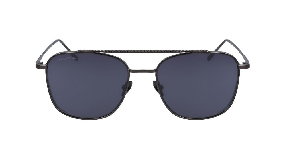 سعر نظارة لاكوست شمسية للجنسين - شكل افياتور - لون أسود - زكي للبصريات