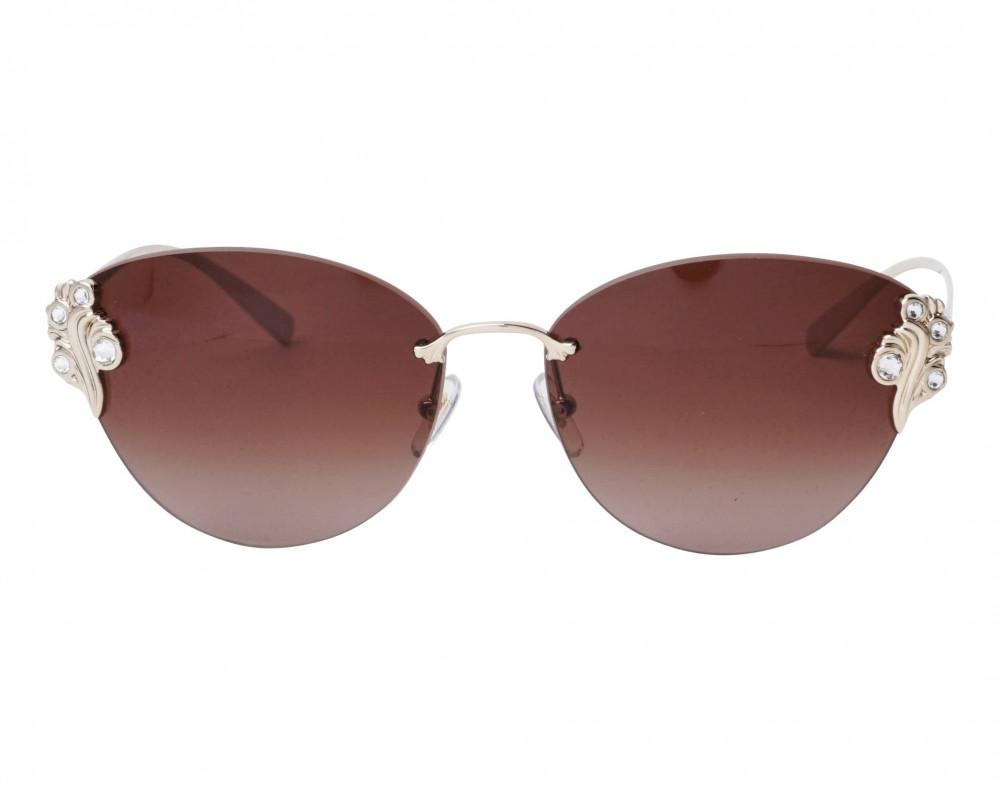 شراء نظارات شمسية نسائية فرزاتشي - كات اي - لون ذهبي - زكي للبصريات