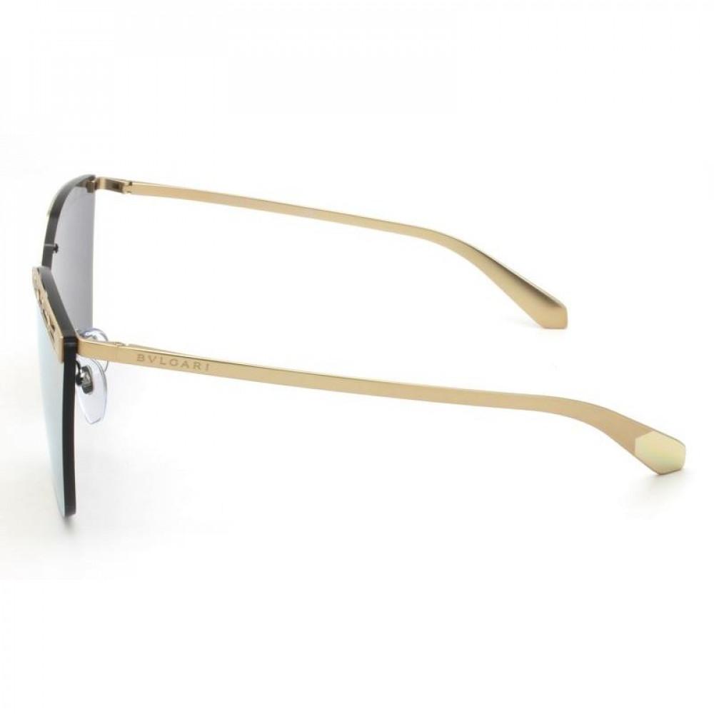 شراء نظارة بولغاري نسائي شمسية - شكل مربع - لونها وردي - زكي