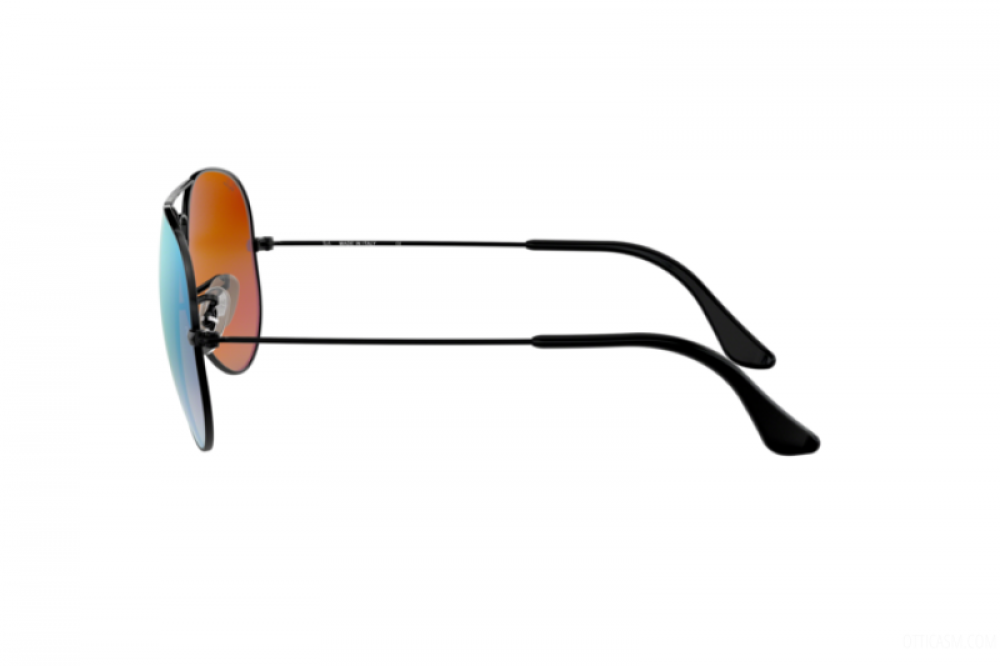 احسن نظارة ريبان شمسيه رجاليه - افياتور - أسود - زكي للبصريات