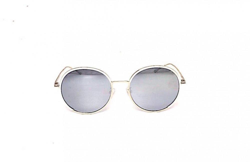 سعر نظارة لومير شمسية للجنسين - شكل دائري - لون فضي - زكي