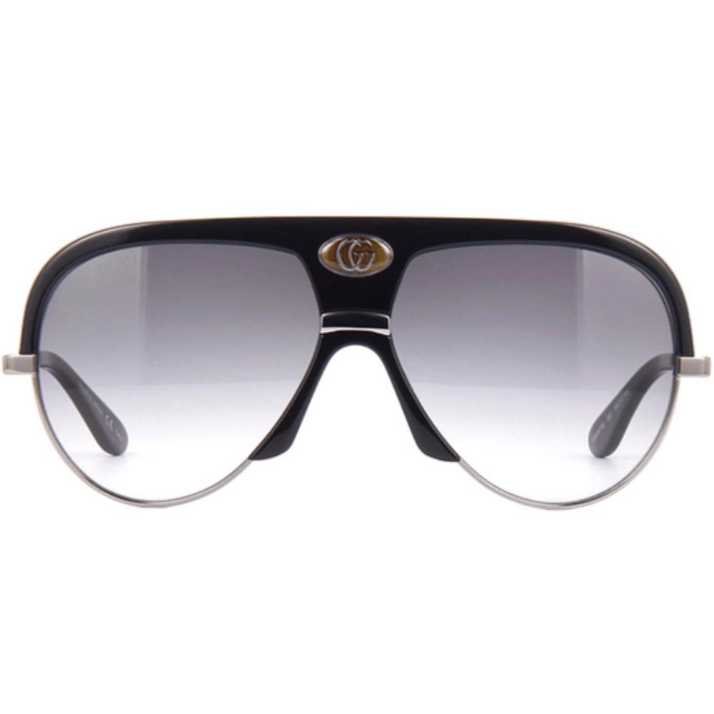 سعر نظارة قوتشي شمسية للرجال - شكل افياتور - باللون اسود - زكي للبصريا