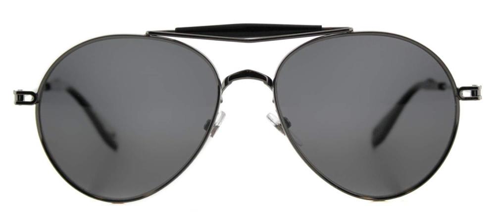 سعر نظارة جيفنشي شمسية للرجال - شكل بيضوي - لون رمادي - زكي للبصريات
