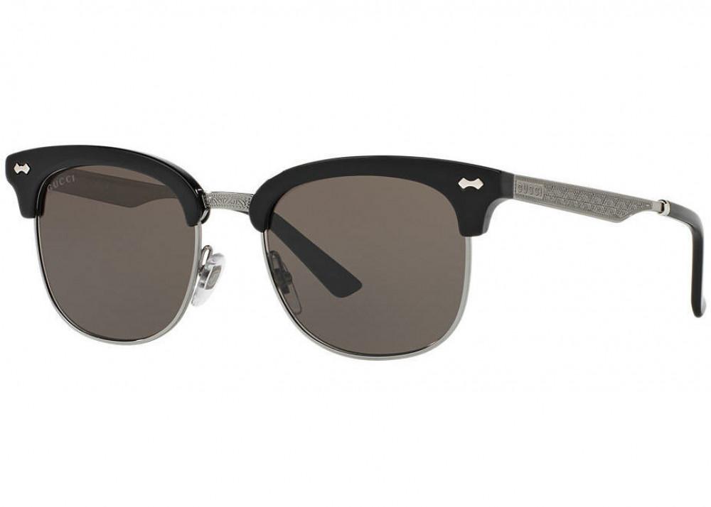 نظارة قوتشي شمسية للرجال - كات أي - لون أسود - زكي للبصريات