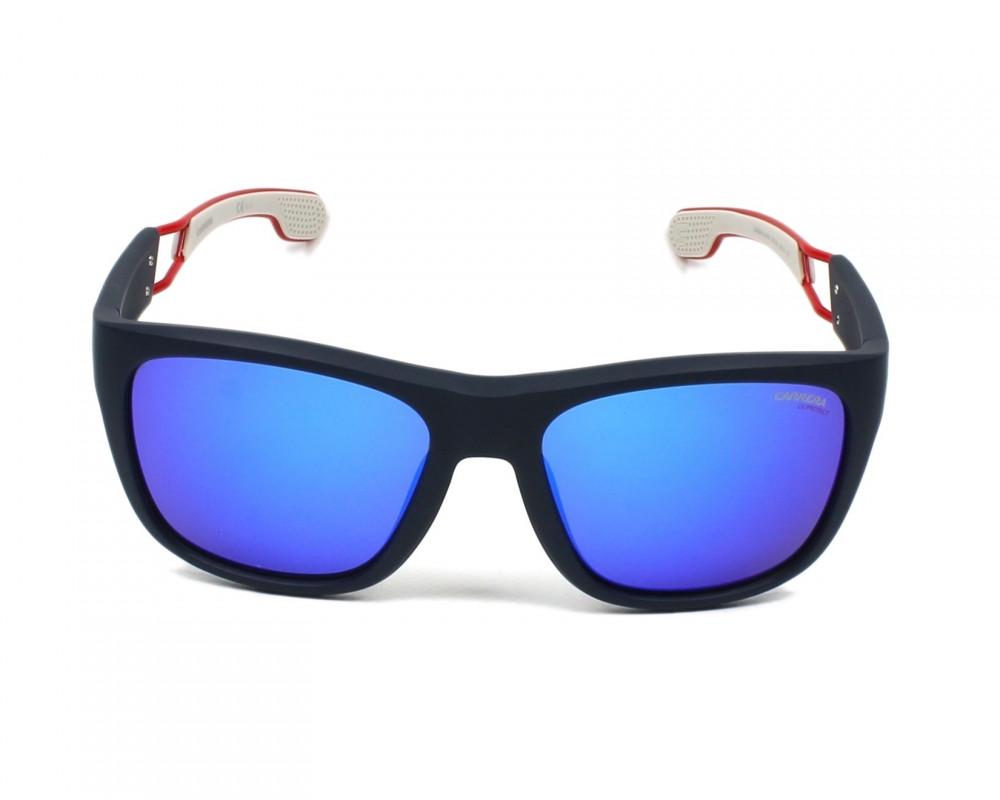 نظارة كاريرا شمسيه للرجال - شكلها مستطيل - لونها اسود - زكي للبصريات