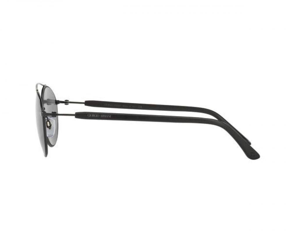 سعر نظارة جورجيو ارماني شمسية للجنسين - دائرية - لون أسود - زكي