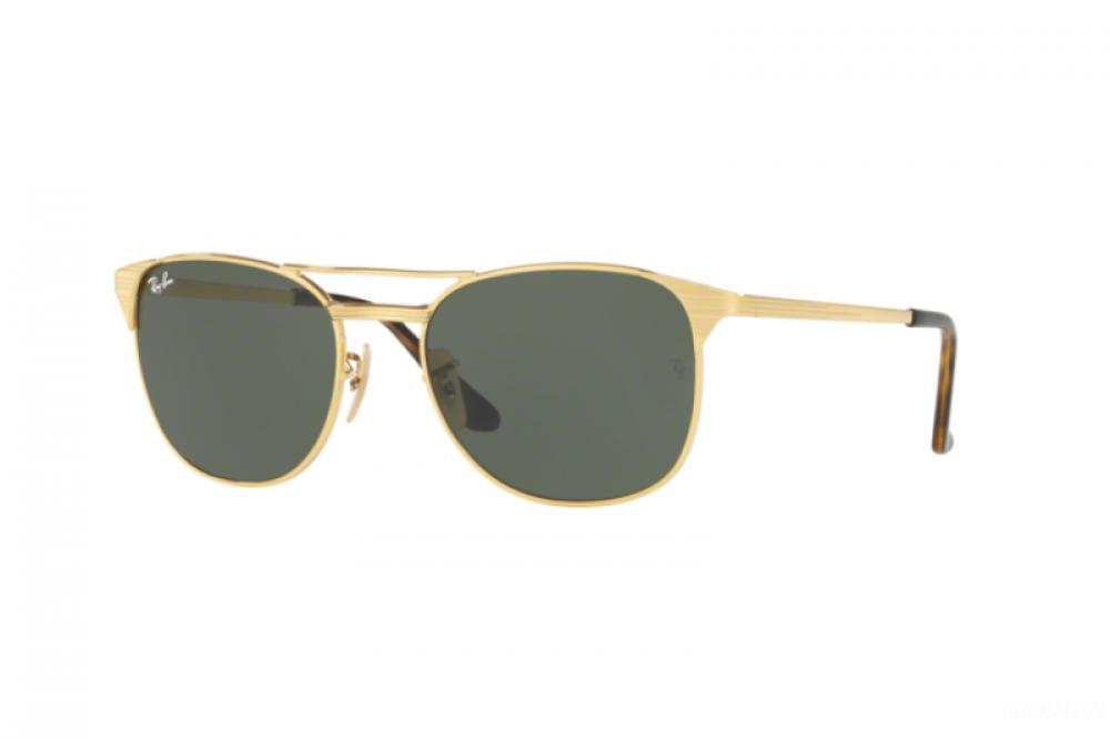نظارة ريبان شمسية للرجال والنساء - واي فيرر - ذهبية - زكي للبصريات