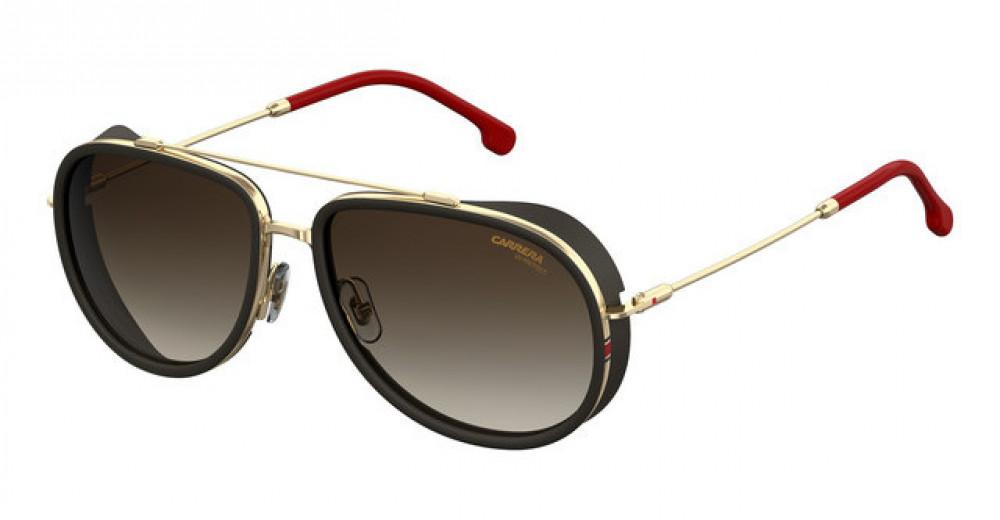 نظارة كاريرا شمسية للرجال - شكلها أفياتور - لون أسود - زكي للبصريات