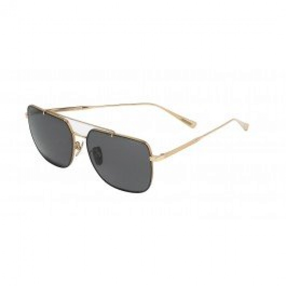 نظارة شوبارد شمسية للجنسين - شكل مربع - لون ذهبي - زكي للبصريات