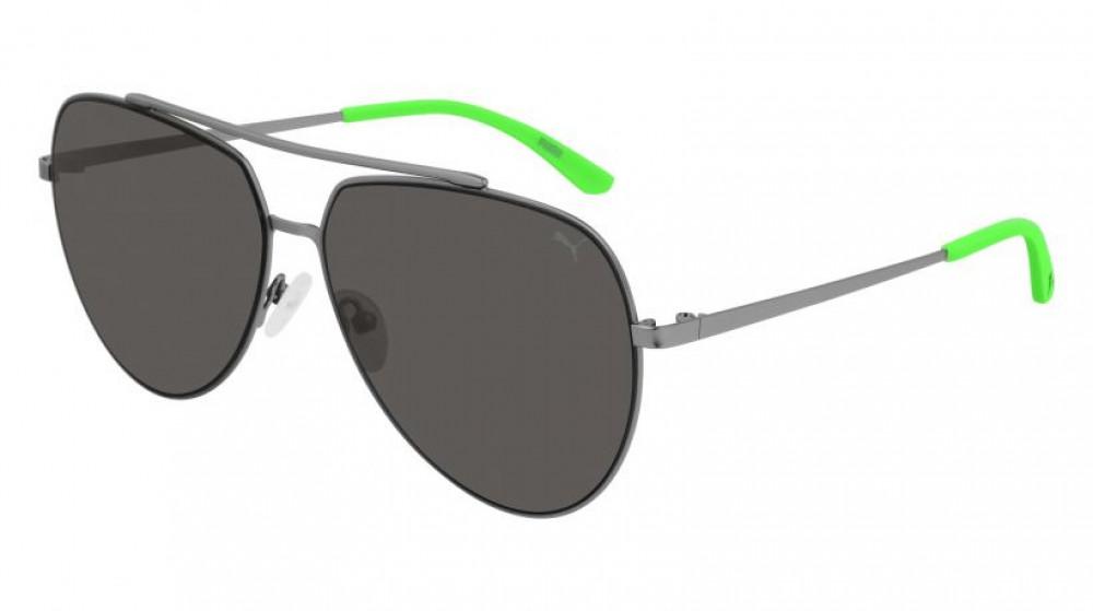 نظارات بوما الشمسية للرجال - شكل افياتور - لون فضي - زكي للبصريات