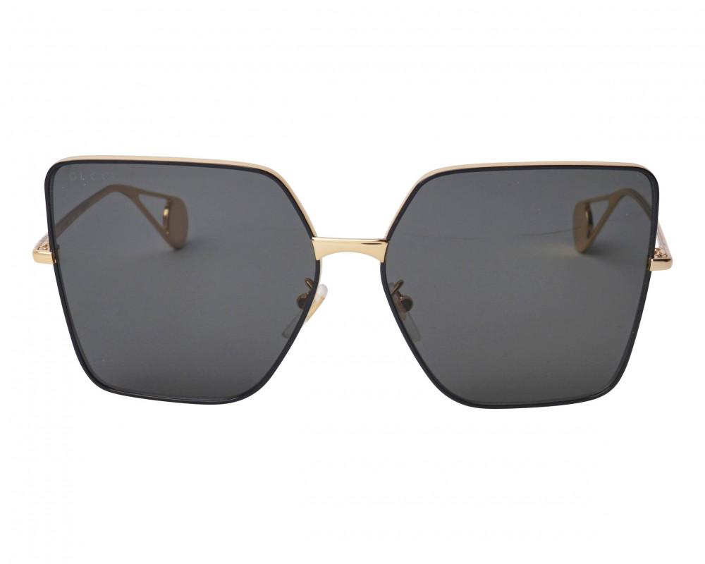 شراء نظارة قوتشي نسائي شمسية - شكل سداسي - لون ذهبي - زكي للبصريات