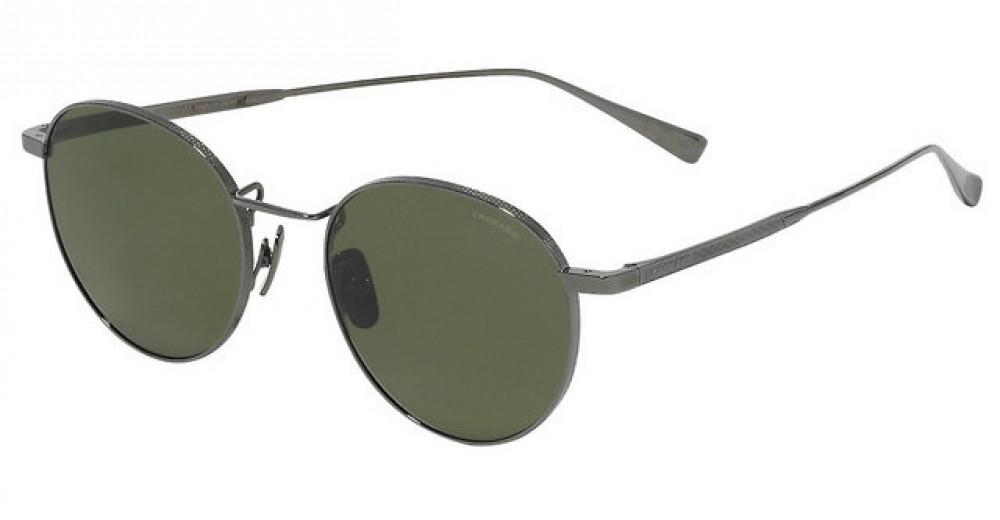 نظارة شوبارد شمسية للجنسين - شكل دائري - لون فضي - زكي للبصريات