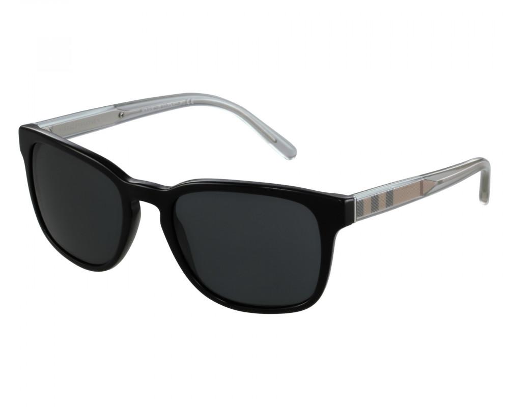 نظارة بربري شمسية للجنسين - واي فيرر - لون أسود - زكي للبصريات