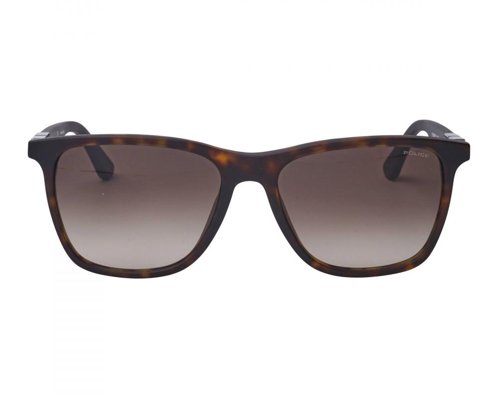 افضل نظارة بوليس شمسيه رجالية - شكل واي فيرر - لون أسود - زكي للبصريات